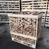 Crate of Kiln Dried Birch Logs